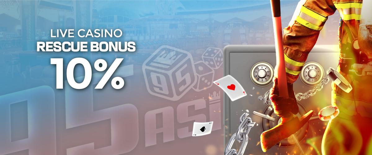 Casino Rescue 10%