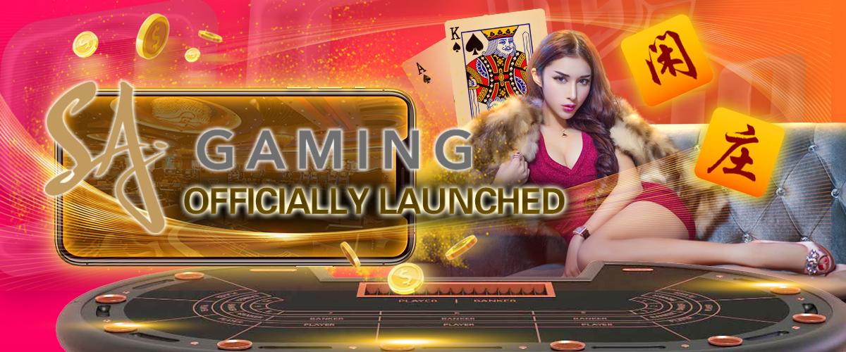 SA Gaming Launching