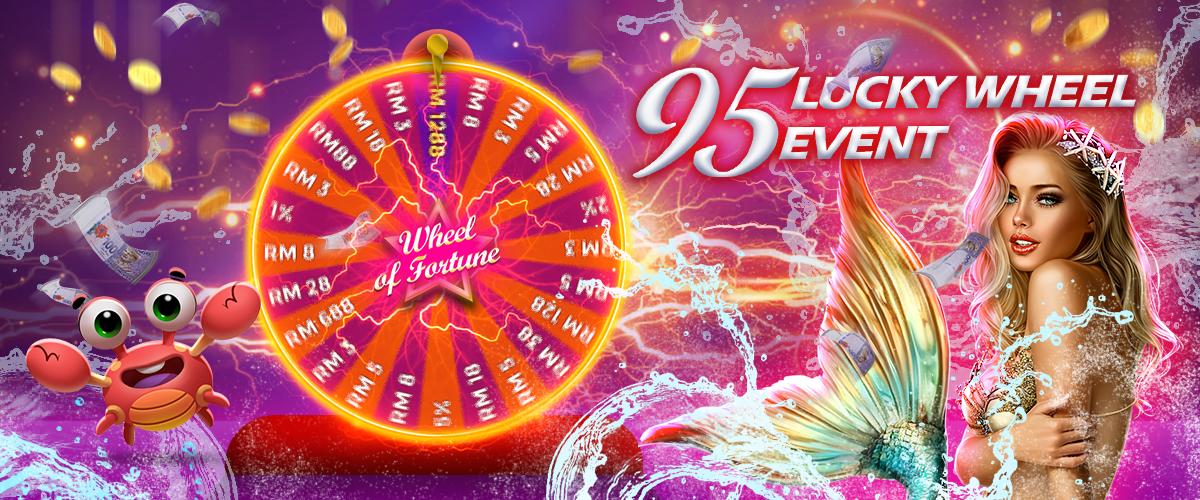 95 Lucky Wheel